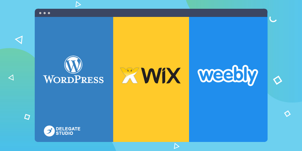 WordPress vs Wix vs Weebly