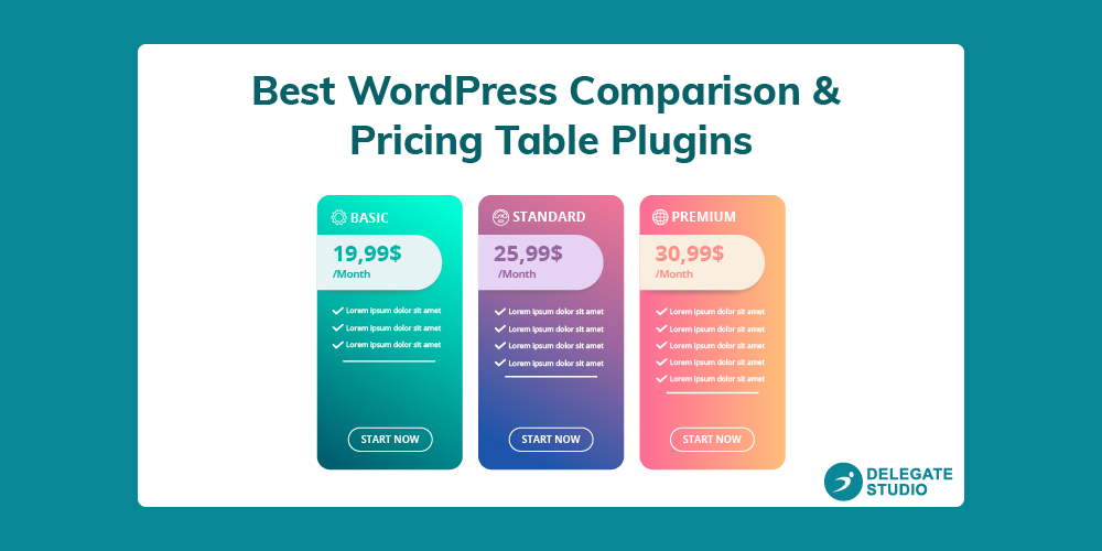 Best WordPress Pricing Table Plugins