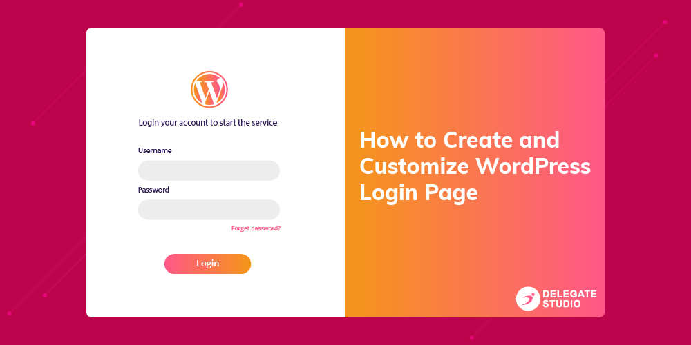 Create custom WordPress Login Page